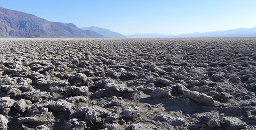 Death Valley, Devils Golf Course