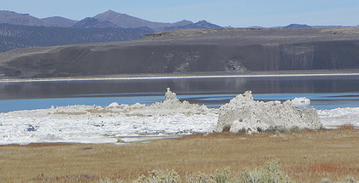 Sand Tufas am Mono Lake